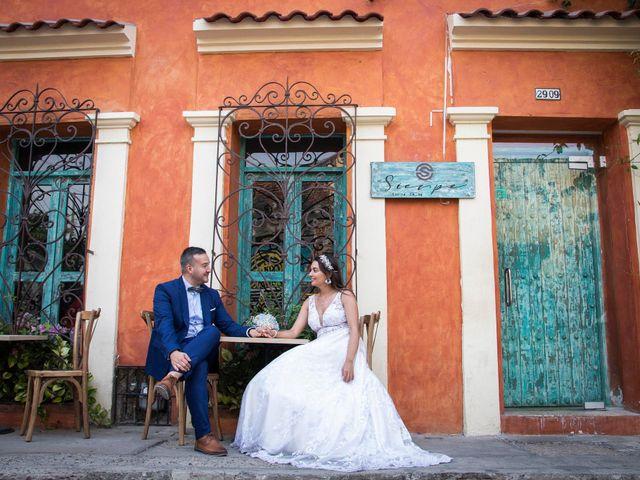 El matrimonio de Juan y Karen en Cartagena, Bolívar 16