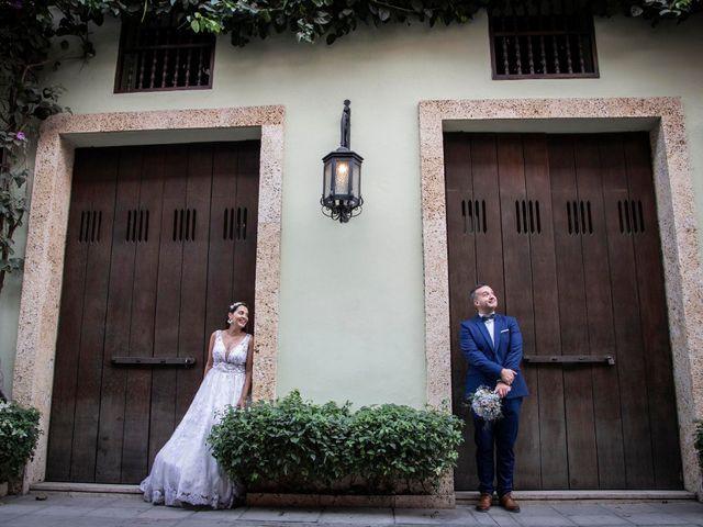 El matrimonio de Juan y Karen en Cartagena, Bolívar 17