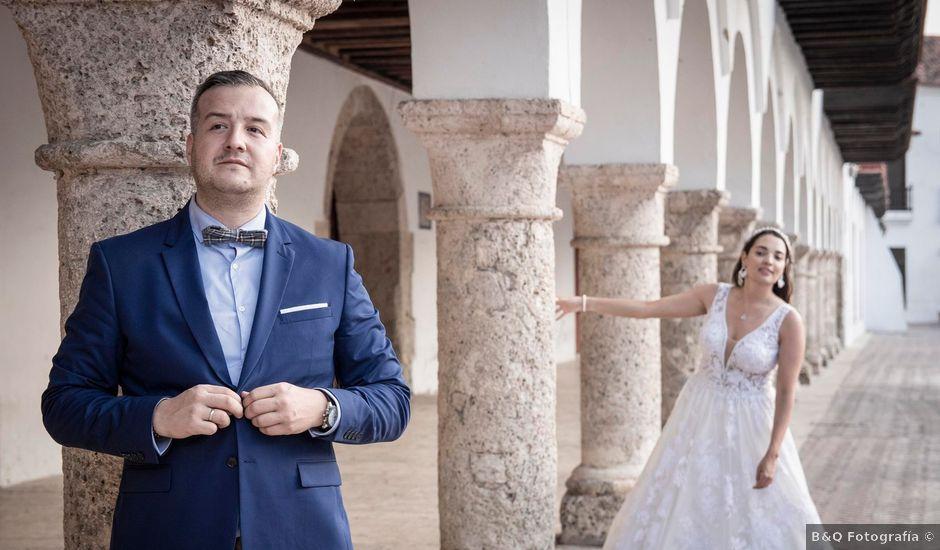 El matrimonio de Juan y Karen en Cartagena, Bolívar
