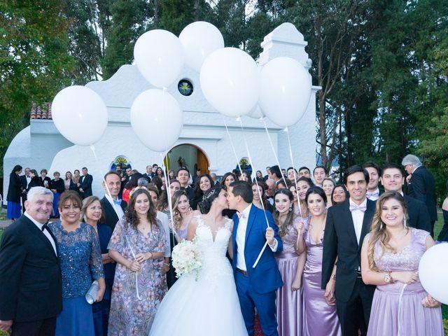 El matrimonio de Julián y Camila en Chía, Cundinamarca 51