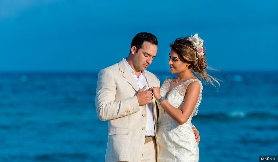 El matrimonio de Felipe y Luisa en San Andrés, Archipiélago de San Andrés