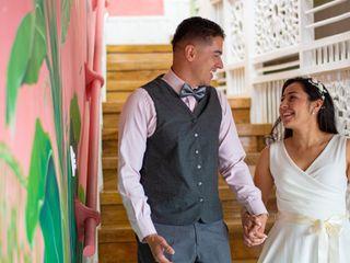 El matrimonio de Vanessa y Carlos