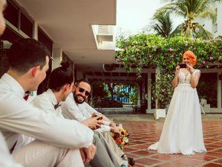 El matrimonio de Vanessa y Hector 1