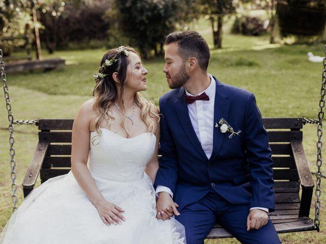 El matrimonio de Marcela y Santiago