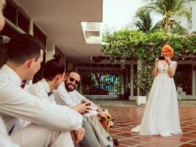 El matrimonio de Hector y Vanessa en Santa Marta, Magdalena 3