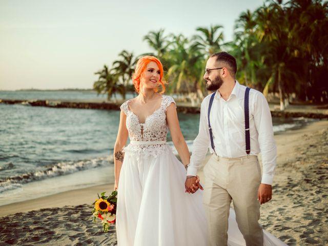 El matrimonio de Hector y Vanessa en Santa Marta, Magdalena 9