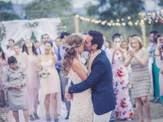 El matrimonio de Maria Paula y Cristian