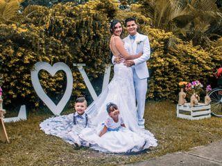 El matrimonio de Kelly y Johan