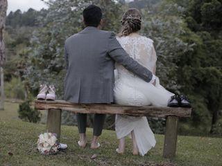 El matrimonio de María y Fredy