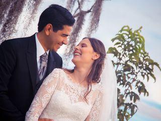 El matrimonio de Ángela y Michael