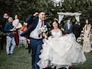 El matrimonio de Astrid y Edinson