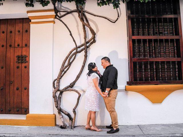El matrimonio de Nelson y Maythe en Cartagena, Bolívar 2