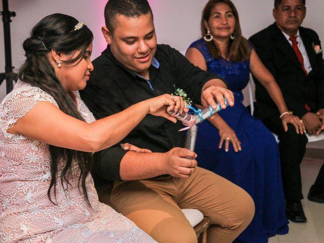 El matrimonio de Nelson y Maythe en Cartagena, Bolívar 3