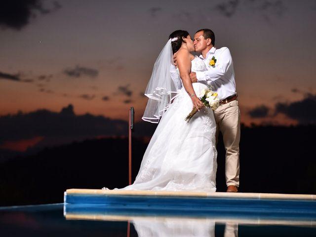 El matrimonio de Olimpo y Rosa en Nocaima, Cundinamarca 1