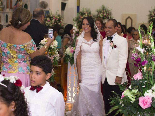 El matrimonio de Eliana y Carlos