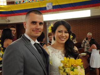 El matrimonio de Sandra y Edgar
