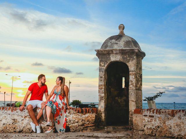 El matrimonio de Juan y Laura en Cartagena, Bolívar 3