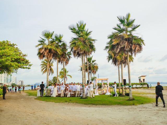 El matrimonio de Juan y Laura en Cartagena, Bolívar 8