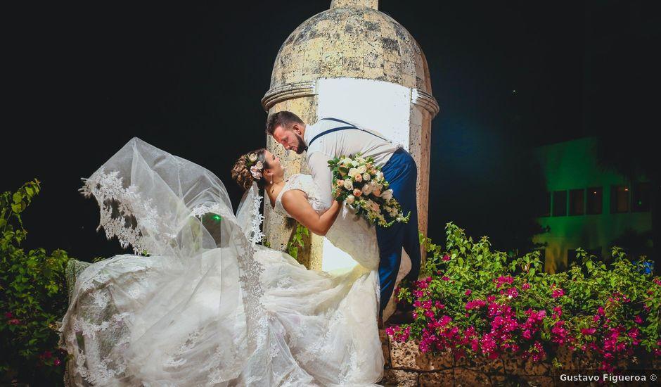 El matrimonio de Juan y Laura en Cartagena, Bolívar