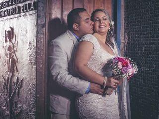El matrimonio de Vanessa y Pablo