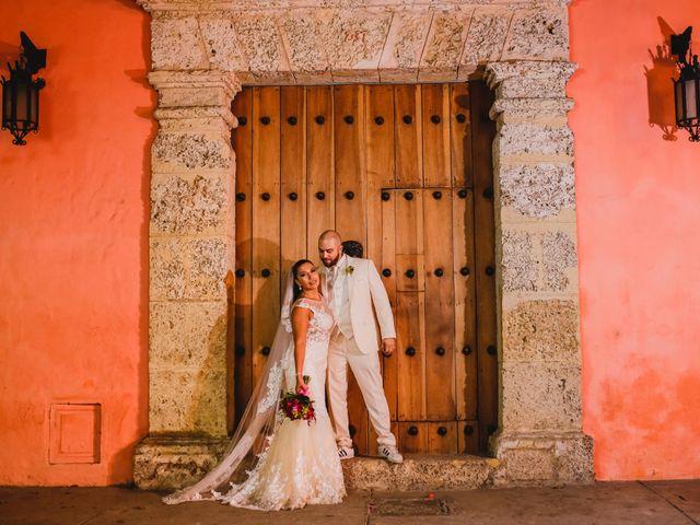 El matrimonio de Jair y Diana en Cartagena, Bolívar 15