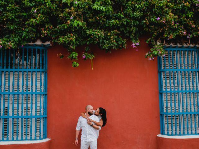 El matrimonio de Jair y Diana en Cartagena, Bolívar 20