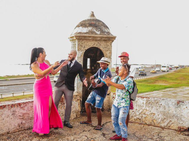 El matrimonio de Jair y Diana en Cartagena, Bolívar 24
