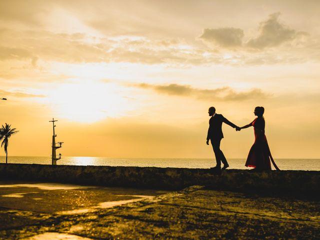 El matrimonio de Jair y Diana en Cartagena, Bolívar 2