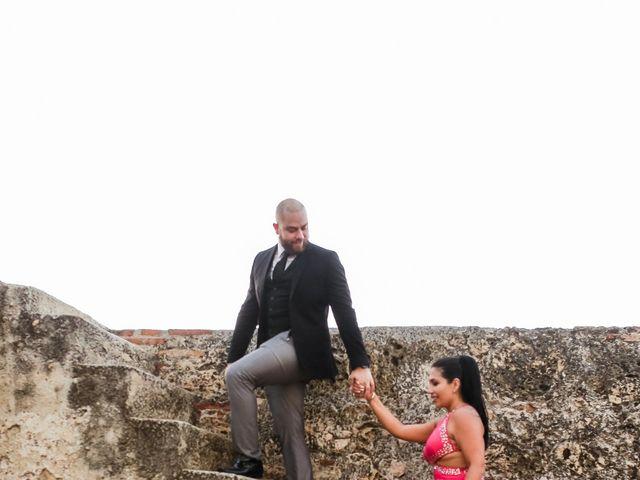 El matrimonio de Jair y Diana en Cartagena, Bolívar 34