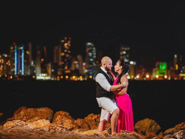 El matrimonio de Jair y Diana en Cartagena, Bolívar 37