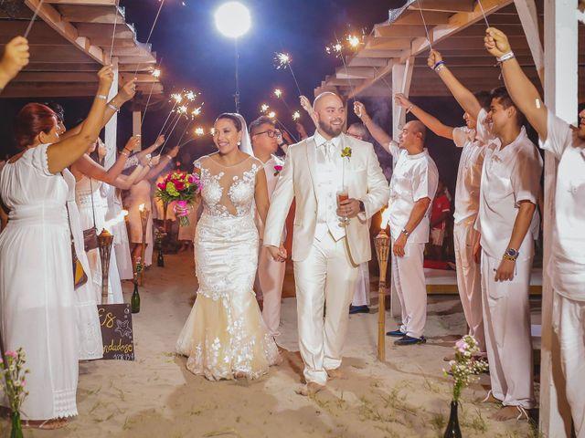 El matrimonio de Jair y Diana en Cartagena, Bolívar 55