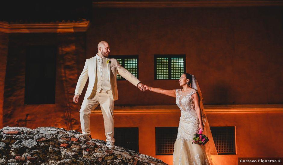 El matrimonio de Jair y Diana en Cartagena, Bolívar