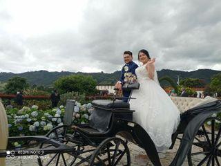 El matrimonio de Anggie  y César