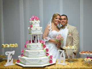 El matrimonio de Anyelina  y Evert