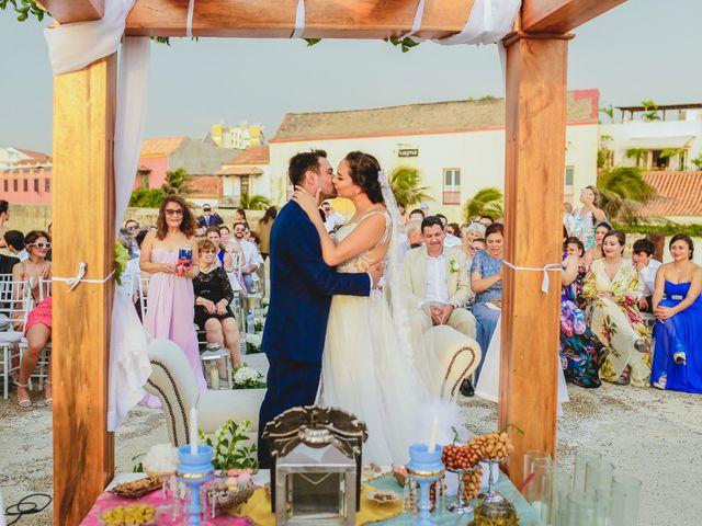 El matrimonio de Nader y katherine en Cartagena, Bolívar 8