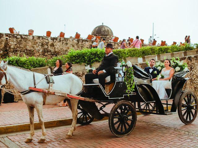 El matrimonio de Nader y katherine en Cartagena, Bolívar 13