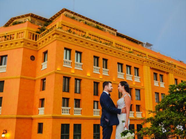 El matrimonio de Nader y katherine en Cartagena, Bolívar 14
