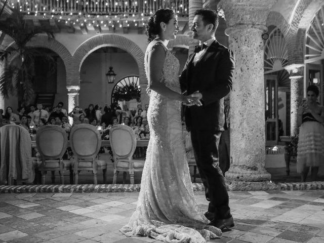 El matrimonio de Nader y katherine en Cartagena, Bolívar 18