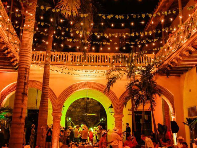 El matrimonio de Nader y katherine en Cartagena, Bolívar 20