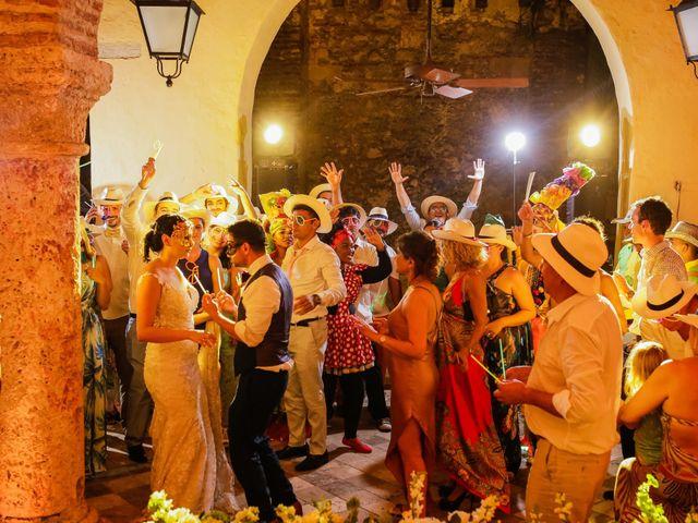 El matrimonio de Nader y katherine en Cartagena, Bolívar 22