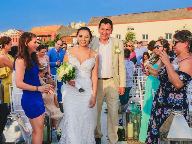 El matrimonio de Nader y katherine en Cartagena, Bolívar 30