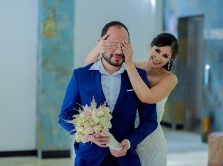 El matrimonio de Viviana  y Belky 1