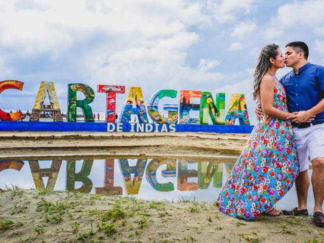 El matrimonio de Fabián y Zaira en Cartagena, Bolívar 7