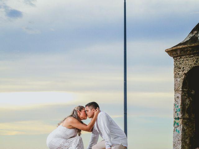 El matrimonio de Fabián y Zaira en Cartagena, Bolívar 8