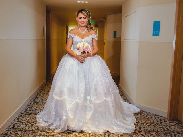 El matrimonio de Fabián y Zaira en Cartagena, Bolívar 15