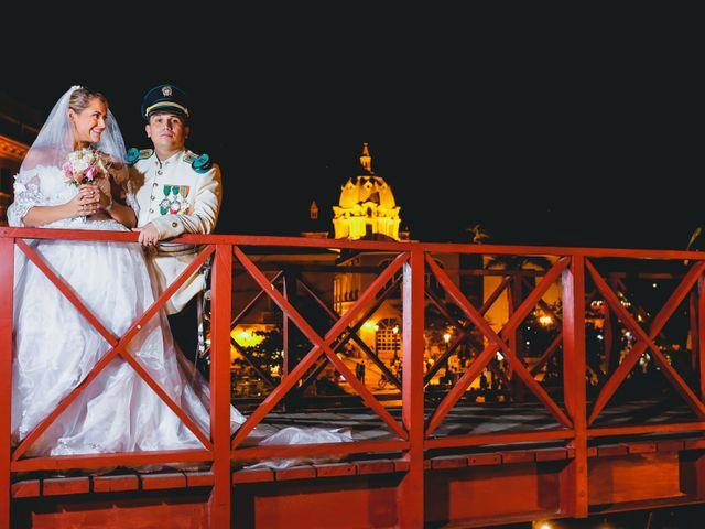 El matrimonio de Fabián y Zaira en Cartagena, Bolívar 23