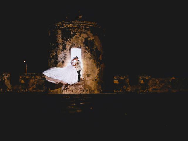 El matrimonio de Fabián y Zaira en Cartagena, Bolívar 2