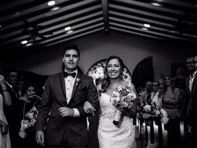 El matrimonio de Alexandra y Santiago