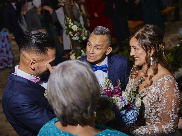 El matrimonio de Marco y Alisson en Subachoque, Cundinamarca 24