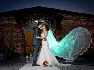 El matrimonio de Patricia y Rolando
